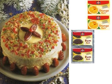 Benátský vánoční dort