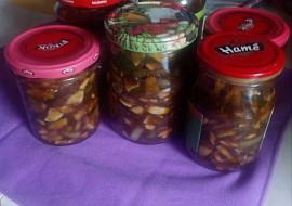 Cuketovo-houbová směs recept
