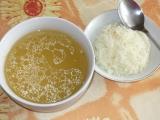 Polévka z uzeného kuřecího stehna recept