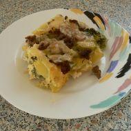 Brokolice s mletým masem recept