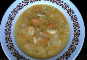 Květáková polévka s mrkví II.