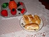 Závin z listového těsta na slano recept