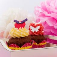 Princess cupcakes recept