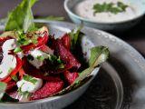 Salát z pečené červené řepy recept