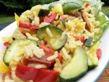 Zeleninové rizoto s klobásou recept
