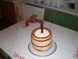 Nastavovaný dort recept