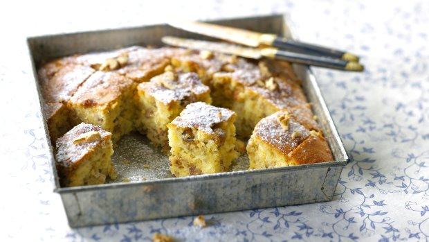 Řecký medový koláč s ořechy