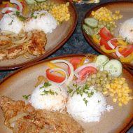 Vepřový gyros s rýží recept