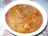 Pohanková polévka s uzeným masem recept