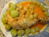 Marinované kuřecí s hroznem (i pro diabetiky) recept