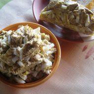 Pomazánka vejce s rybičkami recept