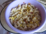 Těstoviny s vaječnou směsí recept