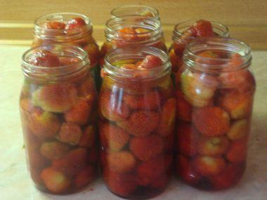Zavařené jahody