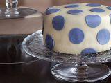Vanilkový dort s čokoládovým krémem potažený marcipánem recept ...