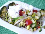 Fenyklový salát s cottage recept