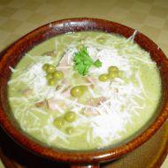 Hrachová polévka s uzeným masem recept