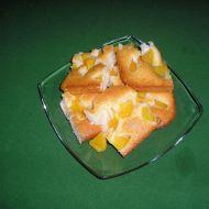Tvarohová buchta s ovocem recept