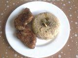 Houbová rýže s kachními prsíčky recept