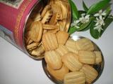 Sušenky s aroma pomerančového květu recept