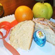 Velikonoční mazanec s mandlemi recept