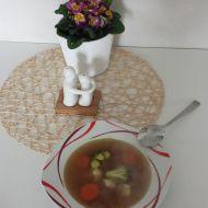 Jednoduchá zeleninovo-luštěninová polévka recept