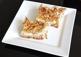 Jablečný koláč s tvarohem recept