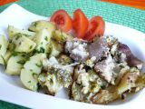Zapečená brokolice s hlívou recept