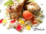 Kuře na rýži recept
