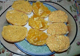 3 Pomazánky ze zázvoru – sýrová, pomerančová, jablečná recept ...