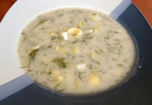 Koprovka  polévka