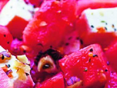 Asijský salát s melounem