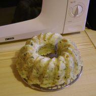 Knedlíková bábovka z mikrovlnky recept