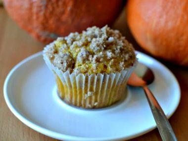 Dýňové muffiny s pekanovými ořechy