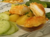 Chřupavé patizonové podkovičky plněné sýrem recept  TopRecepty ...