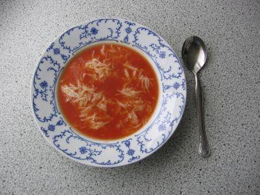 Recept Rajská polévka s noky