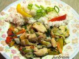 Barevná kuřecí čína recept