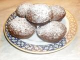 Lehoučké čokoládové muffiny recept