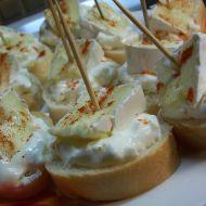Jemná česneková pomazánka recept