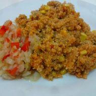 Kuskus s fazolovými lusky recept