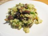 Hlíva ústřičná s kuskusem a brokolicí recept