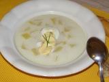 Sýrová polévka s vejcem recept
