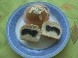 Makové muffiny s mandlemi recept