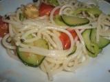Zeleninové špagety. recept