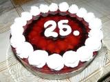 Jahodovo-ostružinový dort recept