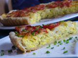 Slaný koláč s květákem a bramborami recept