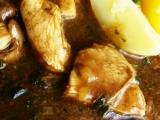 Kuřecí maso s houbami recept