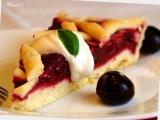 Letní višňový koláč s mandlemi a mascarpone recept