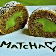 Matcha Tea roláda recept