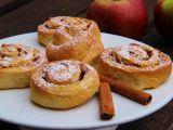 Kynutí skořicovo  jablkoví šneci recept