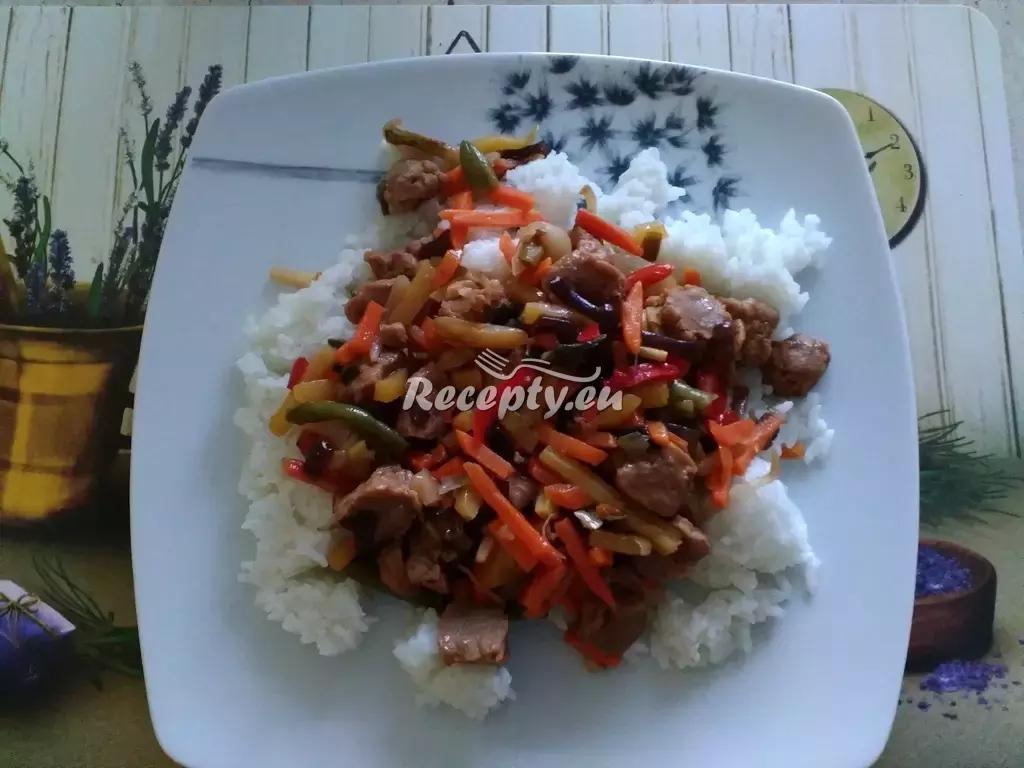 Selská směs recept  vepřové maso